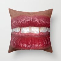 Personal Space 4 Throw Pillow