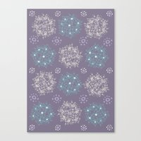 Lilac Clusters Canvas Print