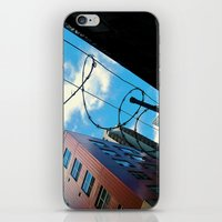 Barbed In Seattle iPhone & iPod Skin