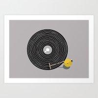 Zen Vinyl Art Print
