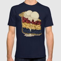 American Pie Mens Fitted Tee Navy SMALL