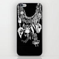 Voodoo Amulets iPhone & iPod Skin