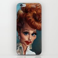 Lucille Ball. iPhone & iPod Skin