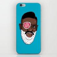 Ol' Saint Slick Rick iPhone & iPod Skin
