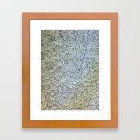 Sea of Lines Framed Art Print
