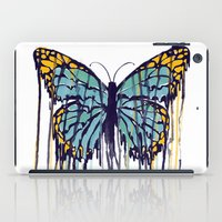 Melting Monarch (collab … iPad Case