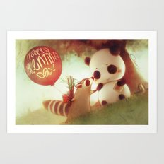 Bandits in Love Art Print