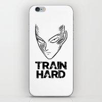 Train Hard iPhone & iPod Skin