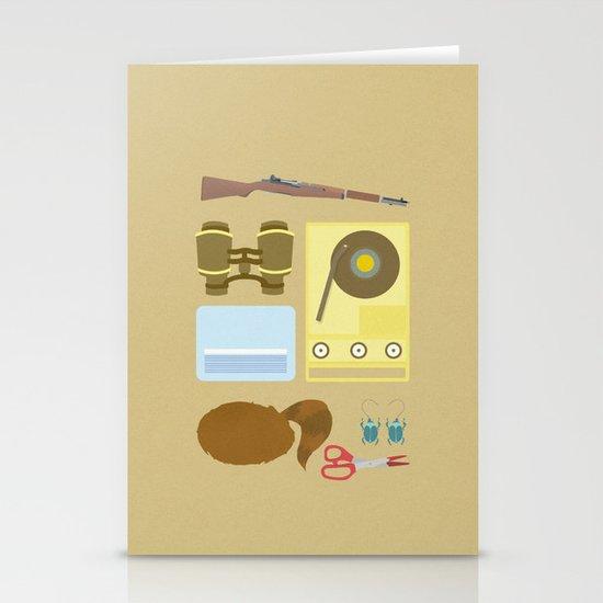 Moonrise Kingdom Stationery Card