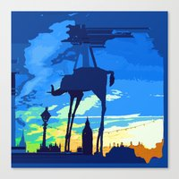 Salvador's Elephant Canvas Print