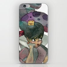 Queen of hearts iPhone & iPod Skin