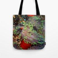 Domino Damselfish In Ane… Tote Bag