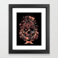 Dead Pirate's Gold Framed Art Print