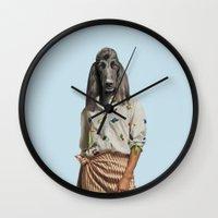 Madame Boulevard Wall Clock