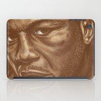 round 9..lenox lewis iPad Case