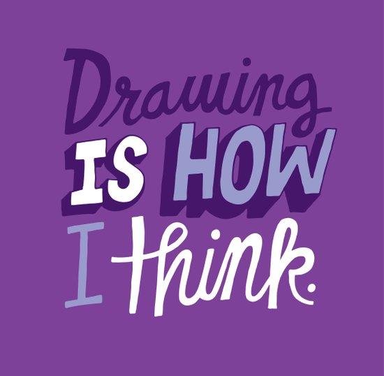 How I Think Canvas Print