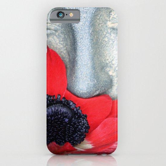 Anemone Buddha iPhone & iPod Case