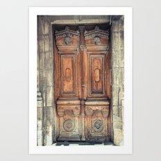 Doors II Art Print