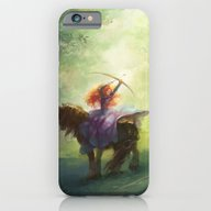 iPhone & iPod Case featuring Brave by Hart-coco