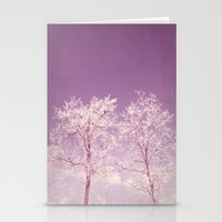 Winter's Longing ~ Abstr… Stationery Cards