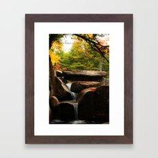 DIANAS BATHS Framed Art Print