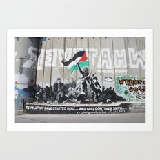 Bethlehem, Palestine Art Print
