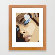 SHADES Framed Art Print