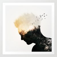 Nature Of The Mind Art Print