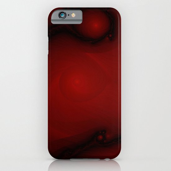 Red Fractal iPhone & iPod Case