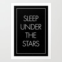Sleep Under The Stars Art Print