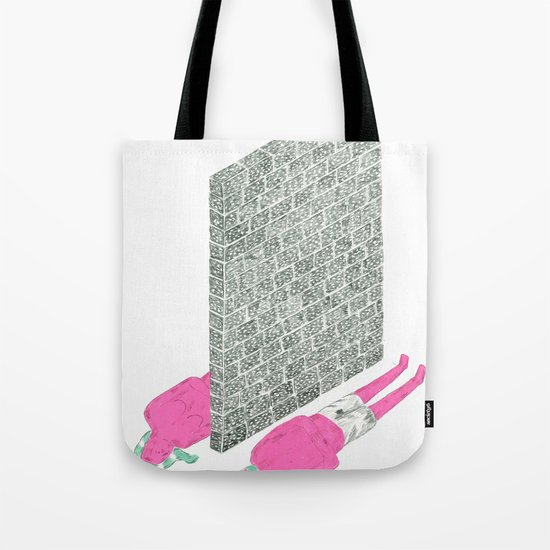 """best friends become strangers"" Tote Bag"