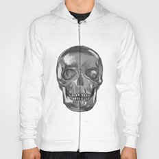 grungy skull Hoody