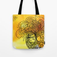 PEACOCKS CAN FLY Tote Bag