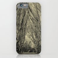 iPhone & iPod Case featuring trees by Ingrid Beddoes