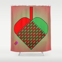 Julekurv Shower Curtain