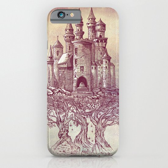 Castle in the Trees iPhone & iPod Case