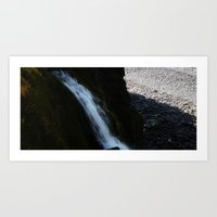 Waterful Art Print
