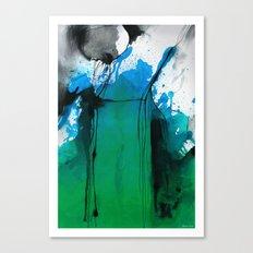 Waterfall, Waterink Canvas Print