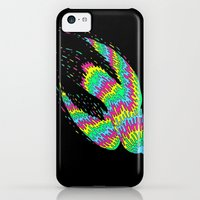 iPhone 5c Cases featuring Melting Flight by Yuppie