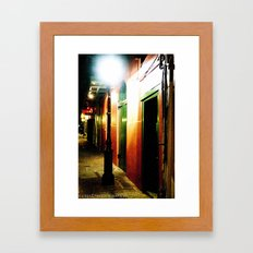 Pirate Alley  Framed Art Print