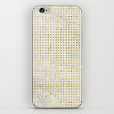 gOld squares iPhone & iPod Skin