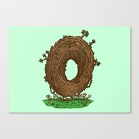 The Natural Donut Canvas Print
