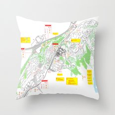 Haugerud Urban Center Throw Pillow