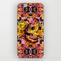 Skull V iPhone & iPod Skin
