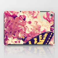 Lilac Monarch iPad Case
