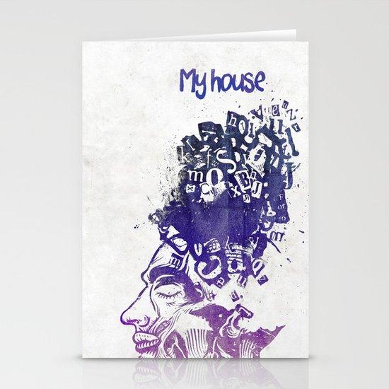 My House Stationery Card