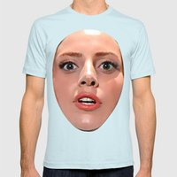 ARTPOP  Mens Fitted Tee Light Blue SMALL