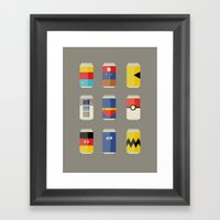 Pop Culture Framed Art Print
