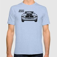 Boss 302 Mens Fitted Tee Athletic Blue SMALL