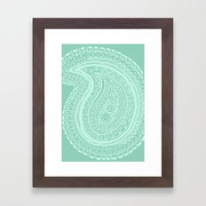 C13 paisley pattern Framed Art Print